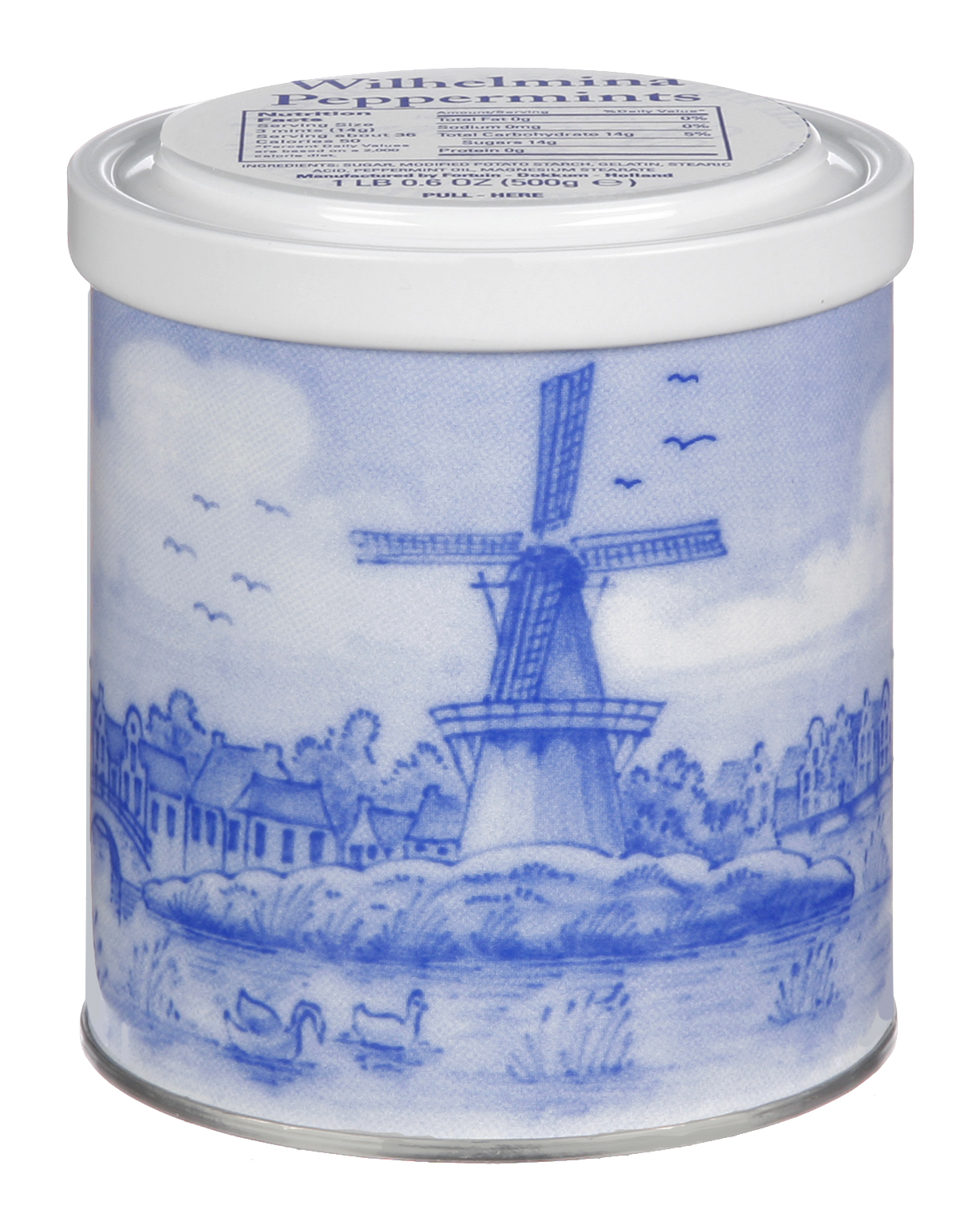 Wilhelmina Peppermint Tin-Blue