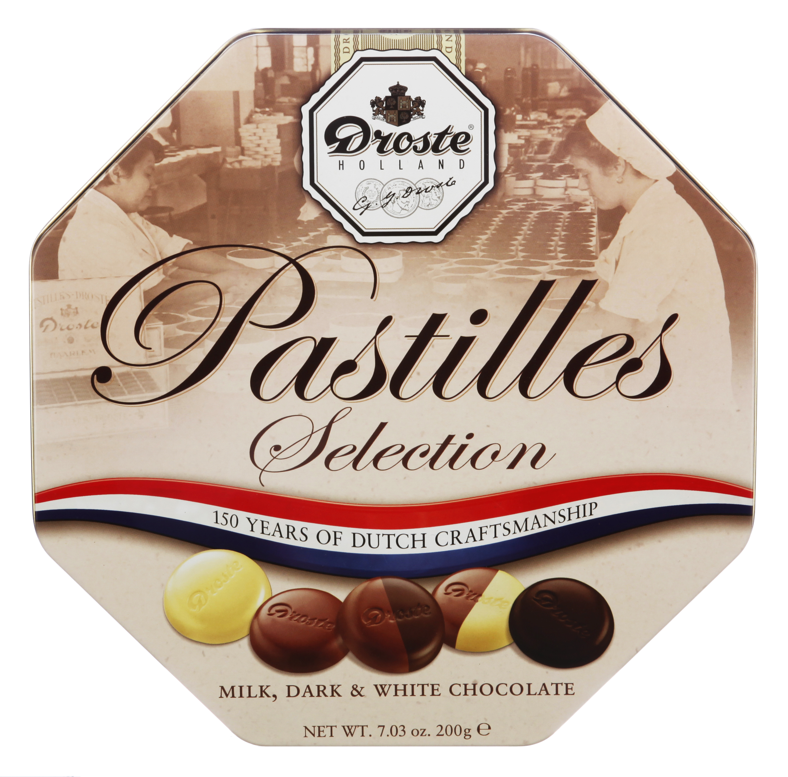 Droste Pastilles in Tin 7 oz