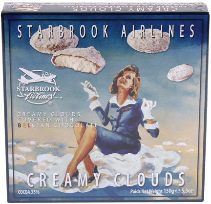 Starbrook Chocolate Vanilla Clouds 5.3 oz
