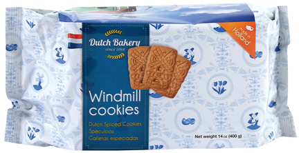 Dutch Bakery Windmill Cookies 14.10z