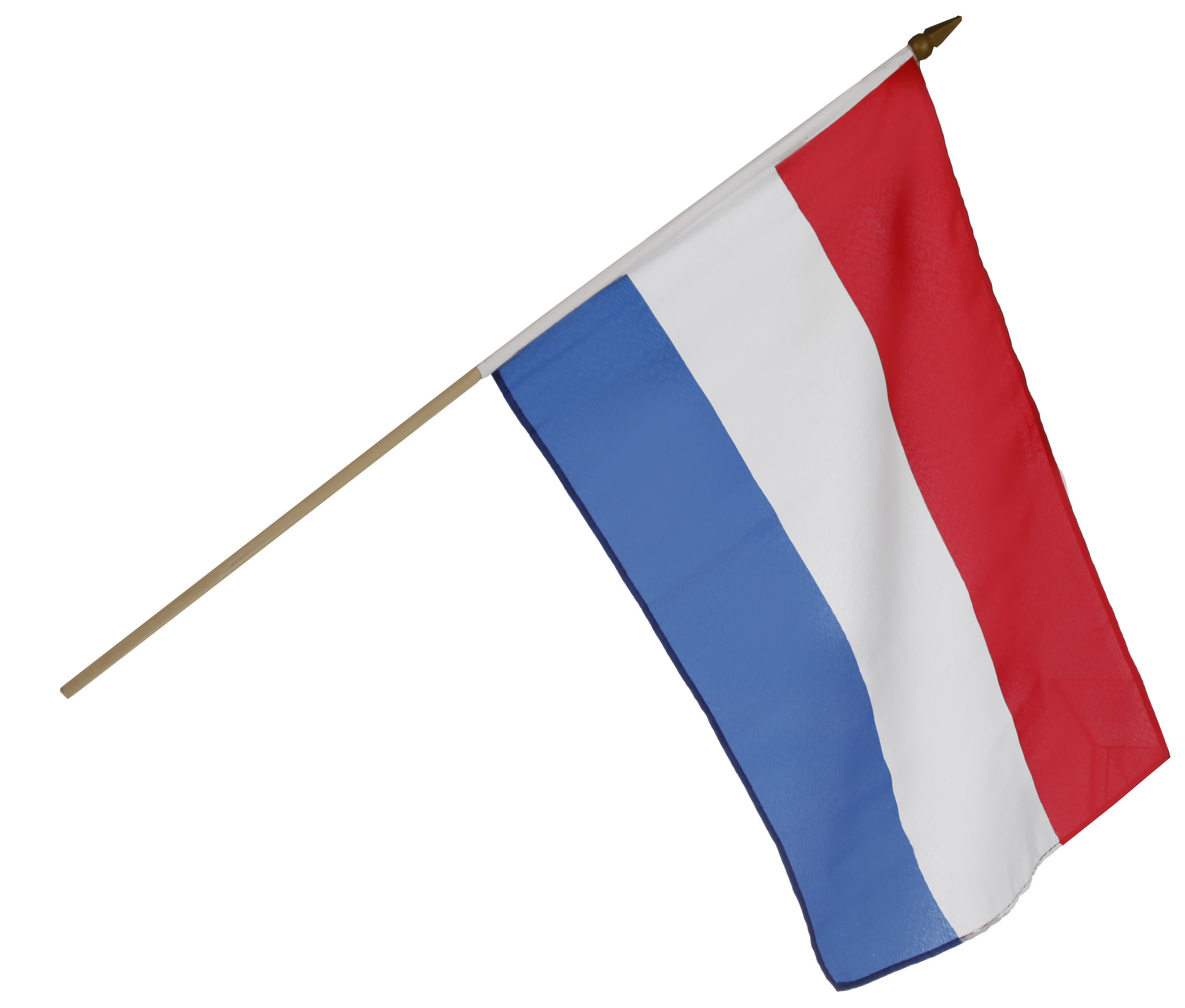 dutch flag on dowel 11x17 inches from http www