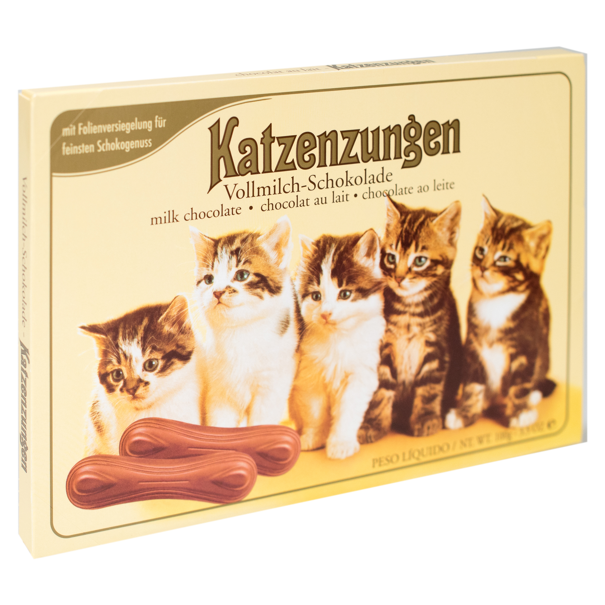 Sarotti Milk Chocolate Cat Tongues 3.5oz